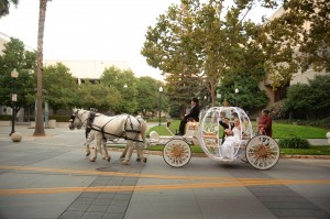 Cinderella Carriage in downtown Sacramento, CA