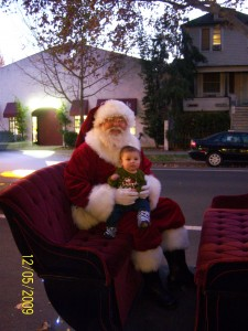 Santa entry in Sacramento